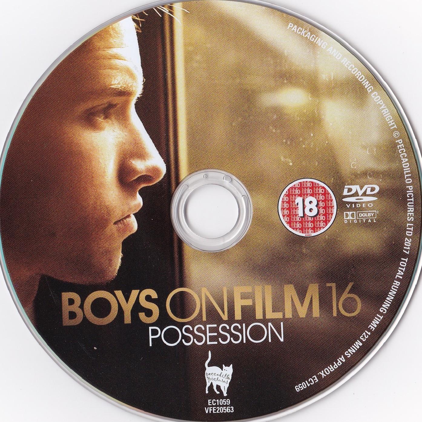Boys On Film 16 Possession (2017) DVD