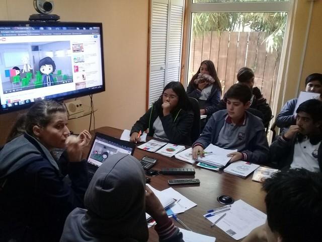 Visita Monitores de Seguridad Escolar CEAT a ONEMI REGIONAL