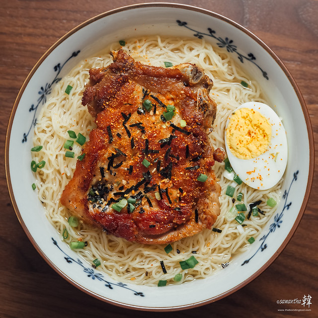 20170610 Egg Noodles With Pork Chop 5780