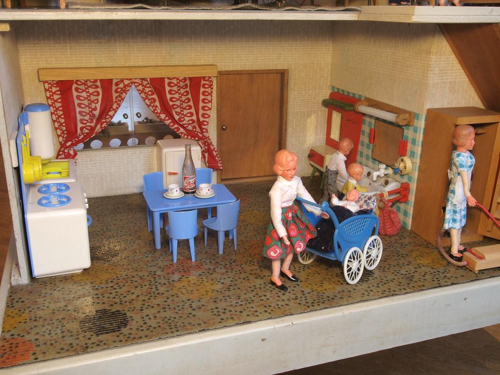 Puppenmöbel Küche