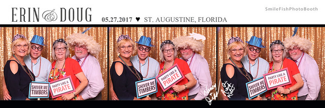 Treasury on the Plaza St. Augustine Wedding Photo Booth