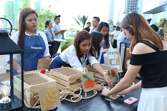 Hoegaarden Duane bacon Blogger Philippines Sun Set Party Summer Activity