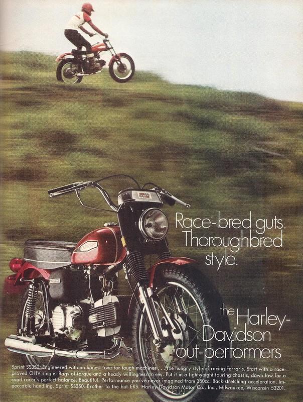 Harley-Davidson Sprint SS350