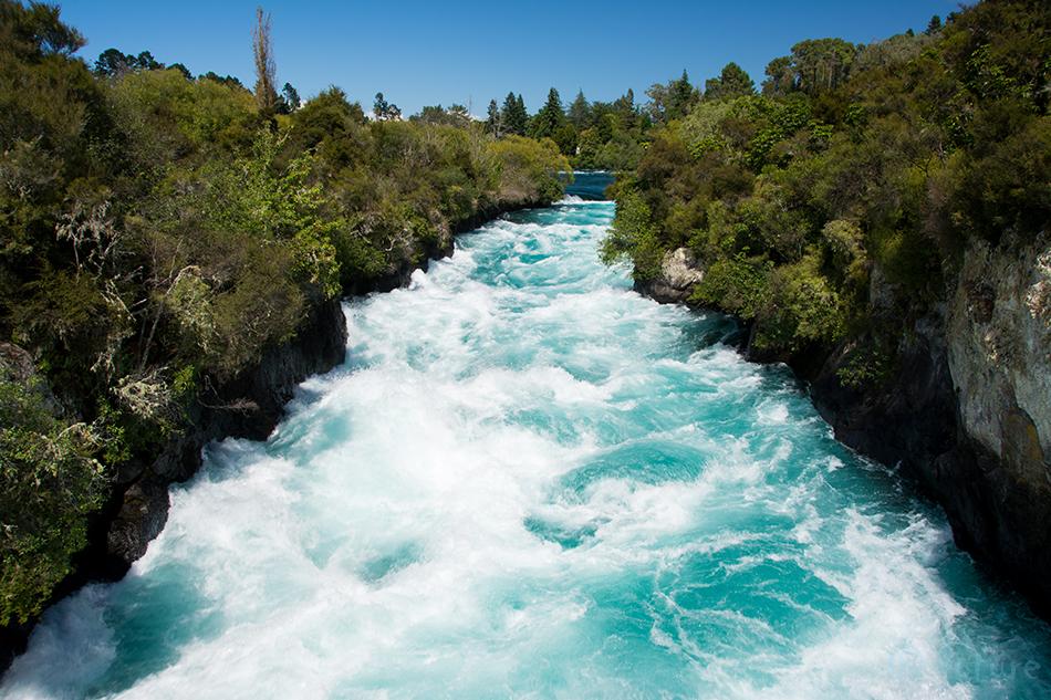 Huka, Falls, Waikato, River, New Zealand, Kaido Rummel