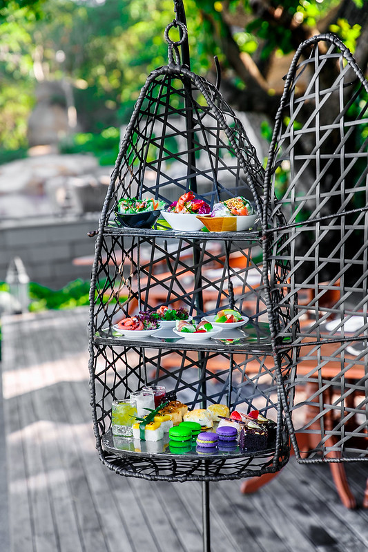 bird cage afternoon tea in Koh Samui, Thailand