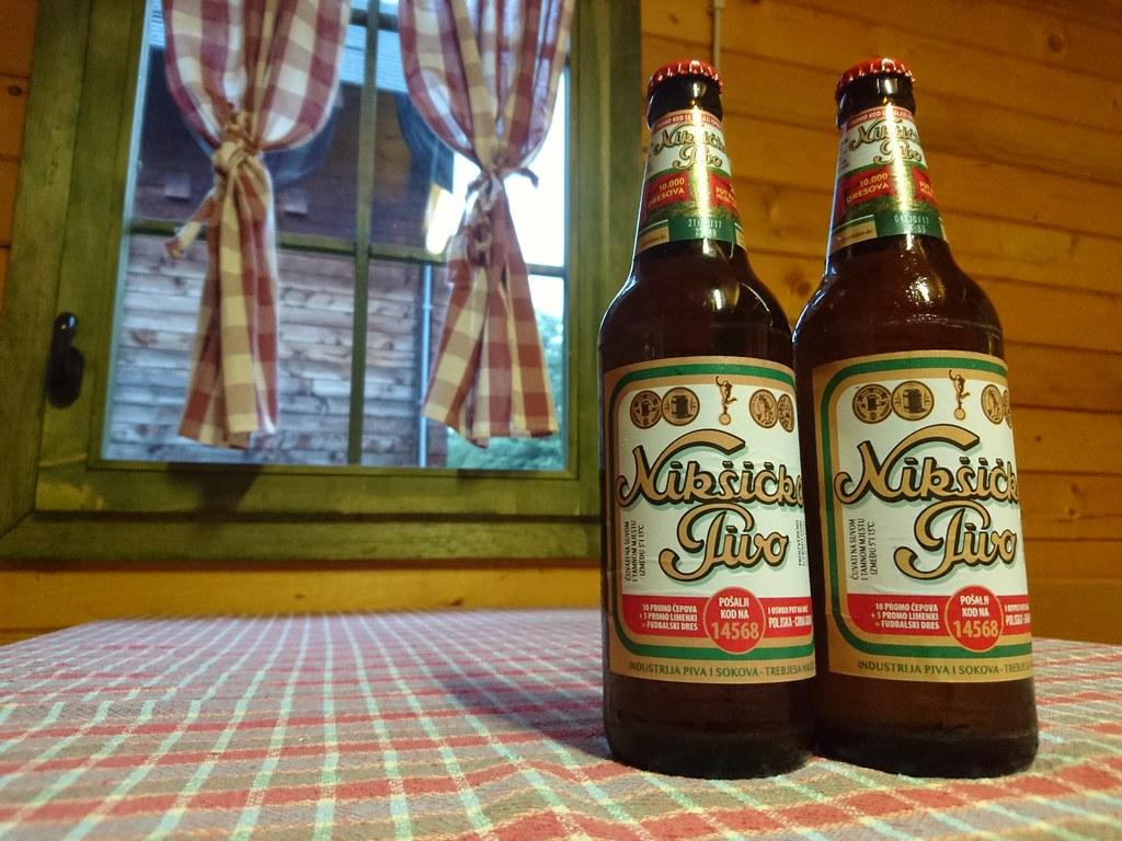 Local beer, Montenegro