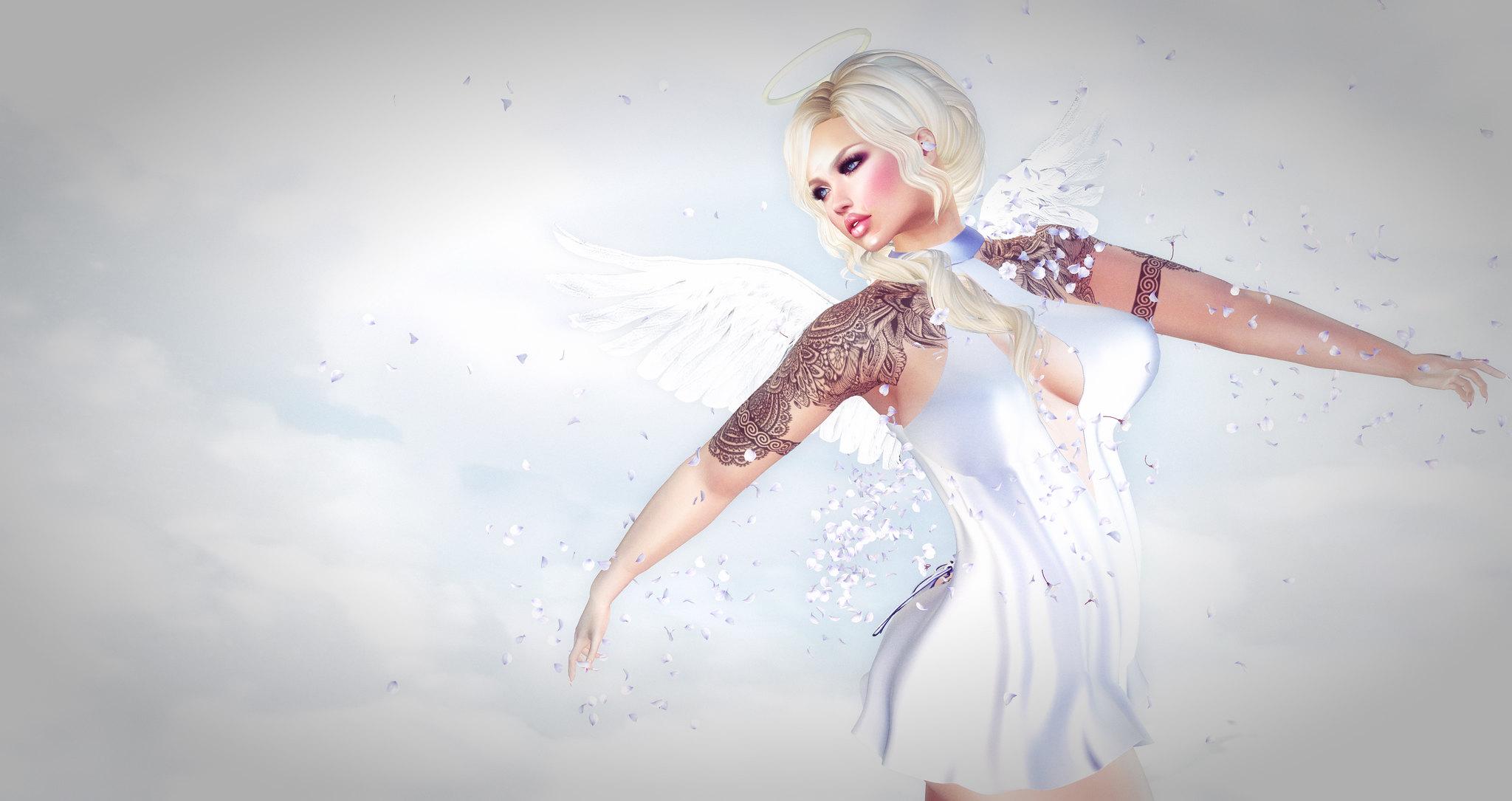 I told you I am an angel