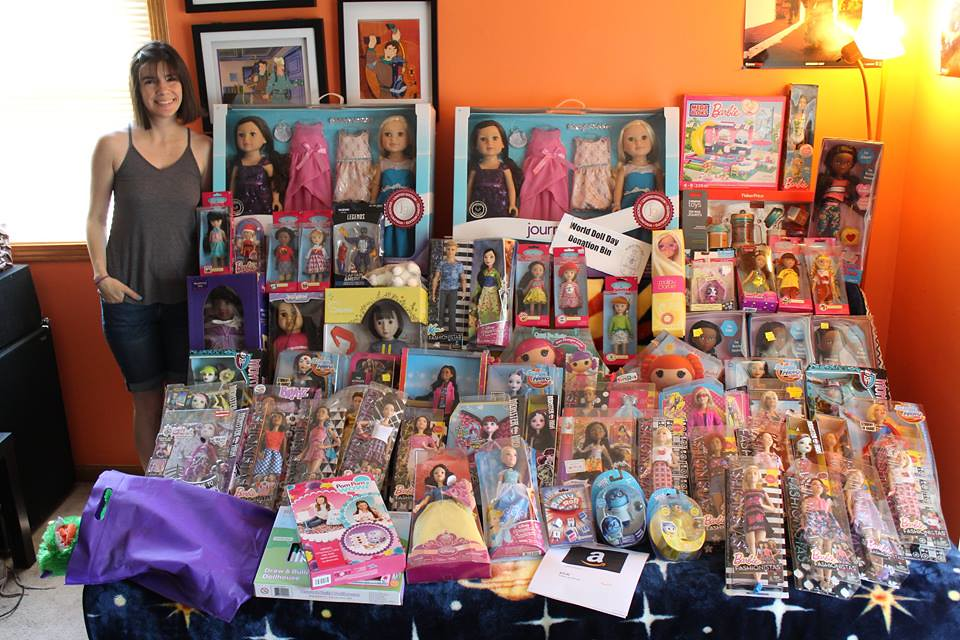 World Doll Day Donations