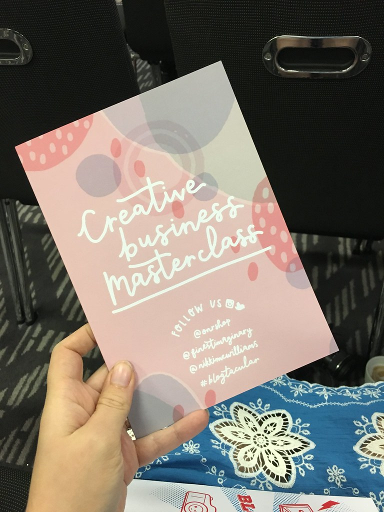 Blogtacular 2017 - creative business masterclass