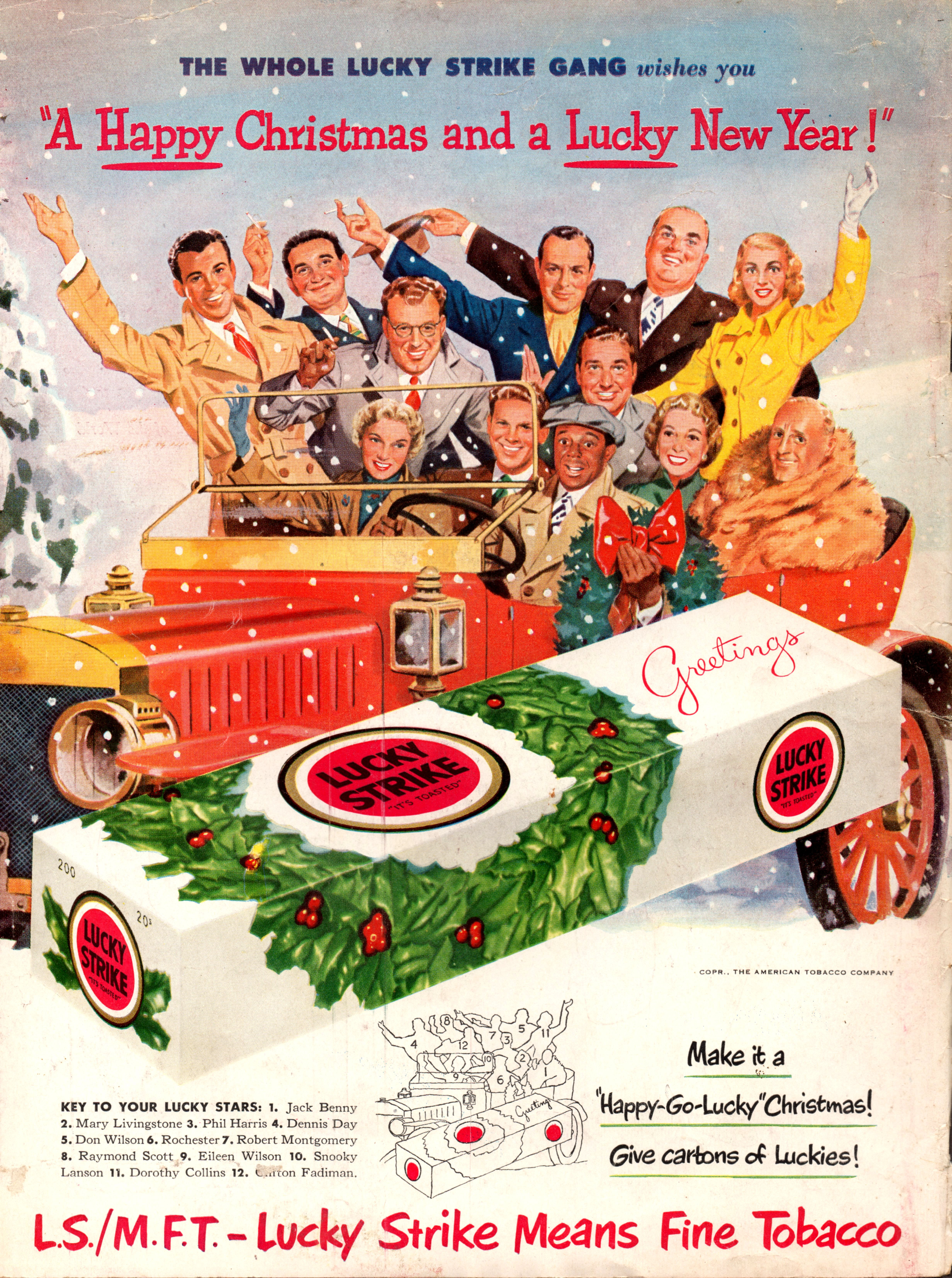 Lucky Strike featuring the cast of The Jack Benny Program - December 1950