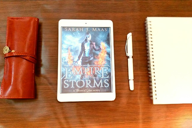 Empire of Storms by Sarah J. Maas | Throne of Glass #5