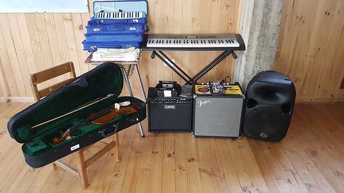 Implementación sala de música Ley SEP