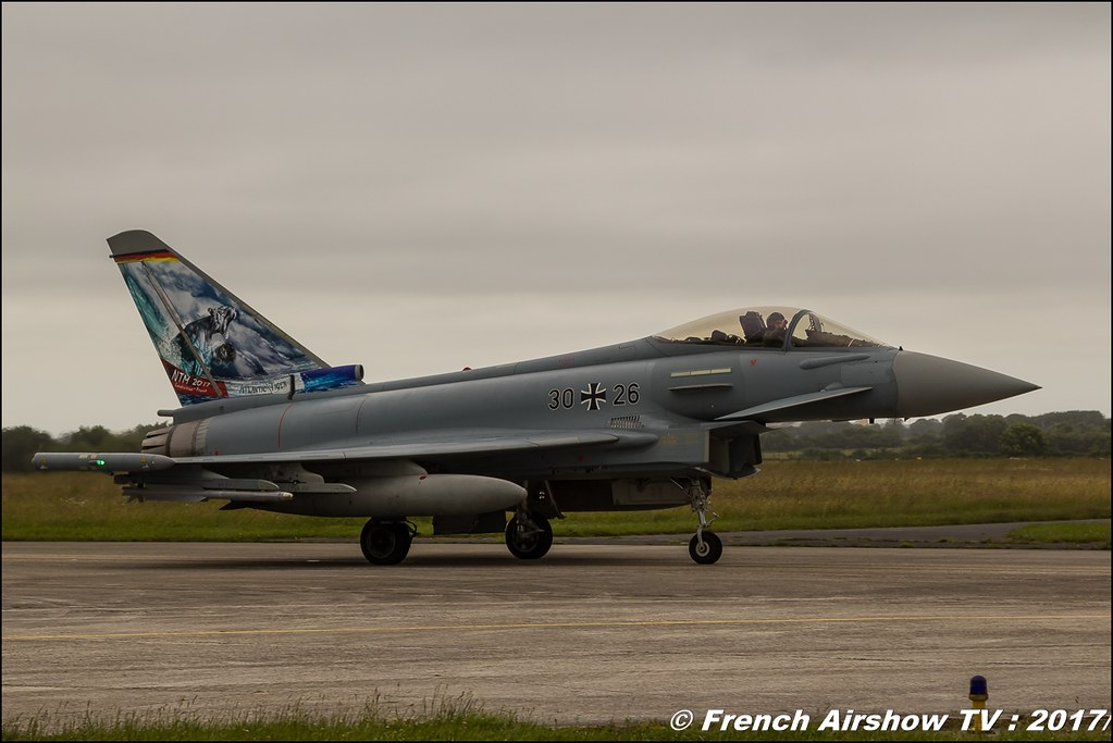 EF2000 Typhoon , TaktLwG 74 (GAF) , Nato Tiger Meet landivisiau 2017 , NTM2017 ,Spottersday Nato Tigers , Harde to be humble , bretagne
