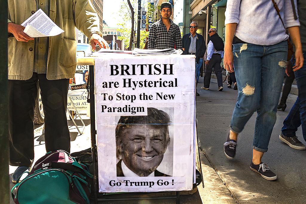Go Trump Go--Montreal