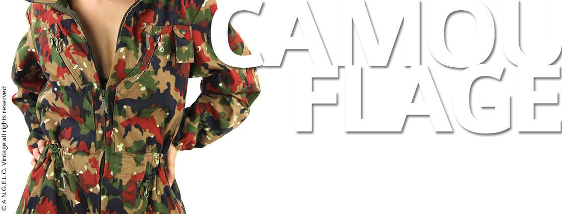 Copertina Camouflage Angelo vintage