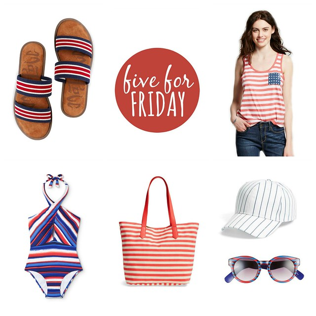 five for friday stars stripes and sandals | Style On Target