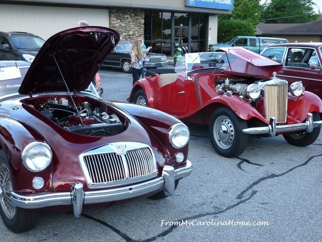Fun with the Car Club at From My Carolina Home