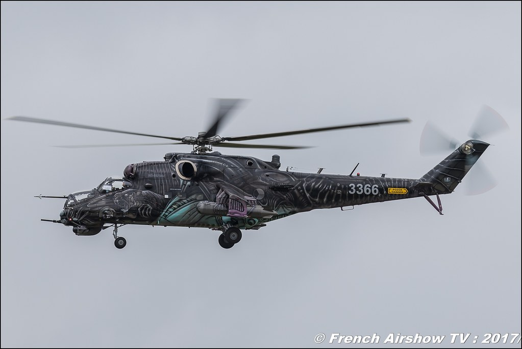 Mi-24 Hind , 221 LtBVr (CzAF) , Nato Tiger Meet landivisiau 2017 , NTM2017 ,Spottersday Nato Tigers , Harde to be humble , bretagne