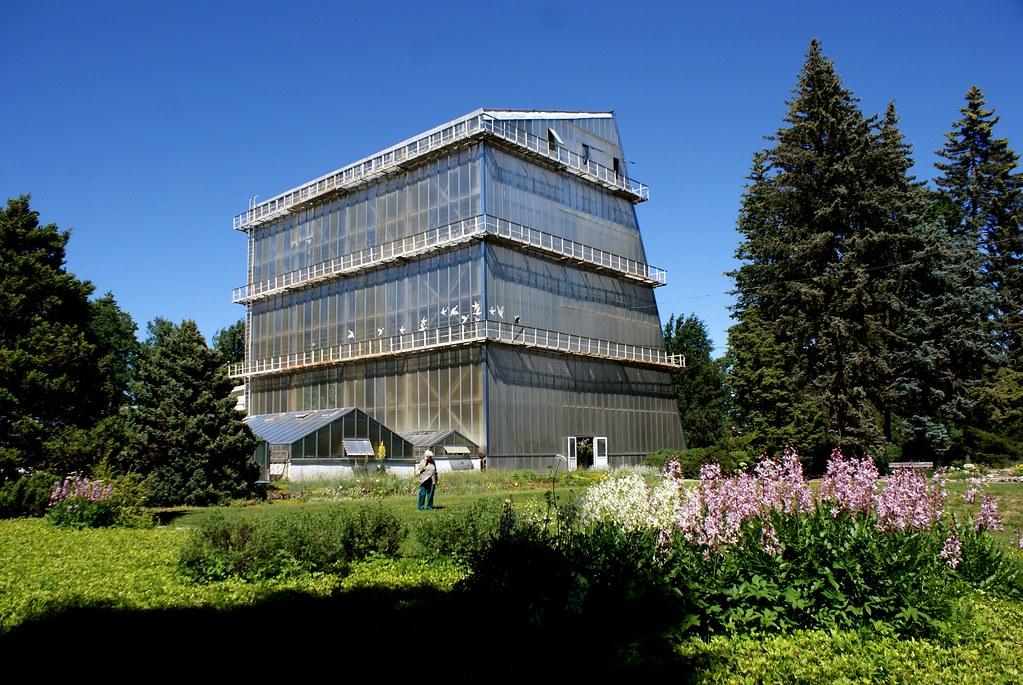 Le jardin botanique de Riga : Une des raisons de visiter le quartier de Pardaugava.