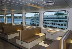 M/V Chimacum passenger cabin