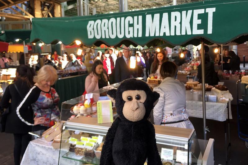 Monkey at Borough Market
