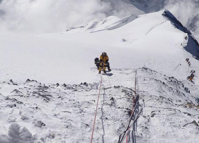 Νοτιοδυτική κόψη - 8.550m