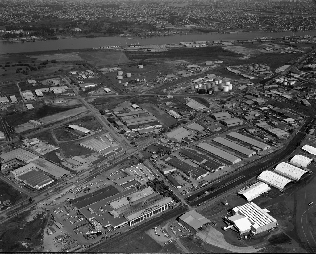 White Motor Company >> Ford Motor Factory, Eagle Farm, Brisbane, 1967 | The Ford ...