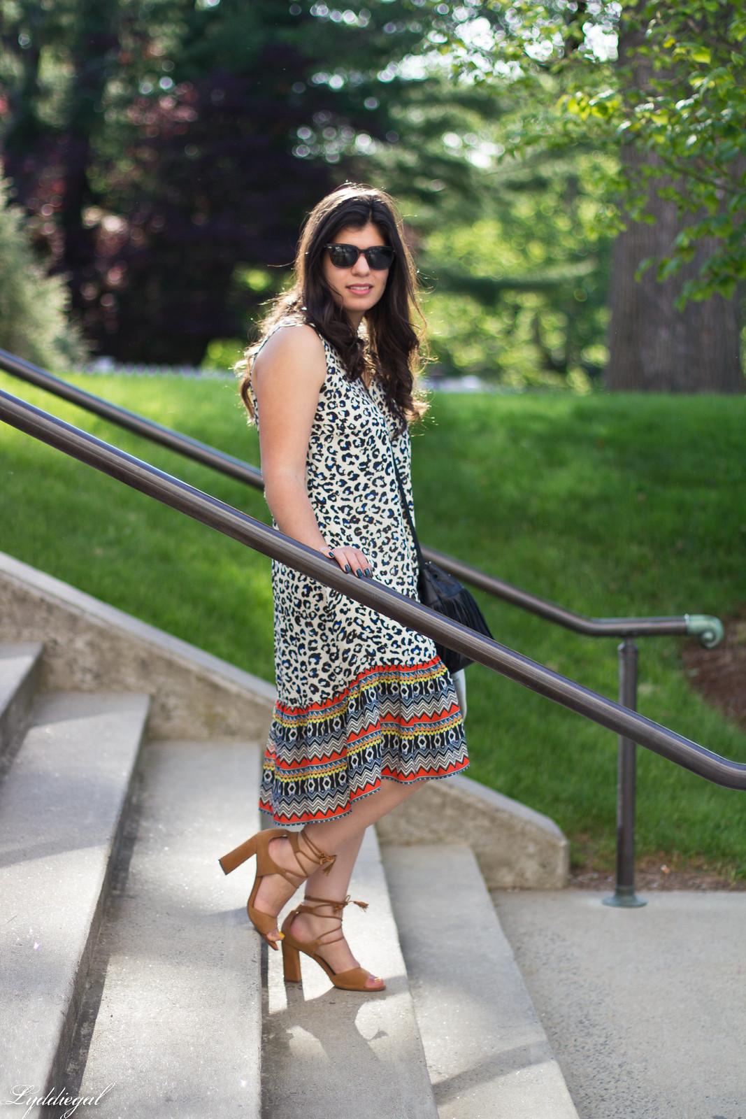 leopard print dress, denim jacket, moonstone jewelry-7.jpg