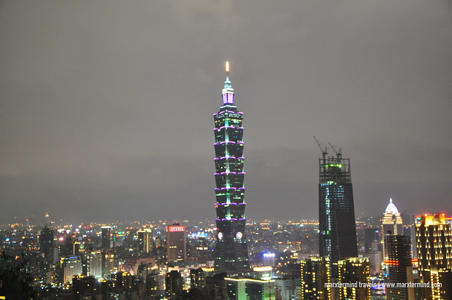 View of Taipei 101 at Night