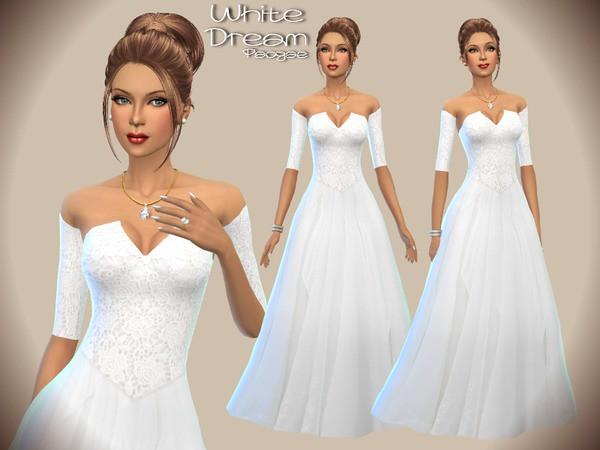 The Sims 4 - 5 abiti classici da sposa!