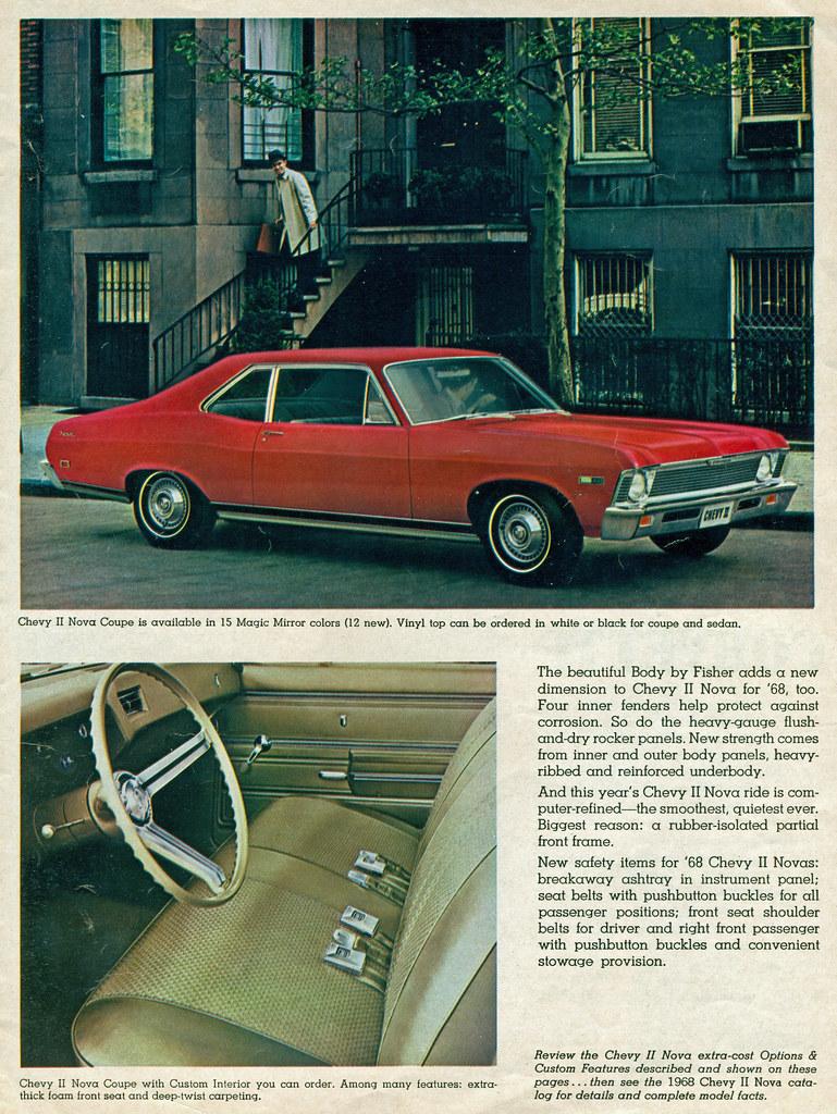 1968 Chevy Ii Nova 2 Door Sedan Coconv Flickr Dodge Dart Colors By