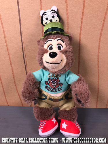 2017 Tokyo Disneyland Henry Vacation Jamboree Plush - Country Bear Collector Show #103