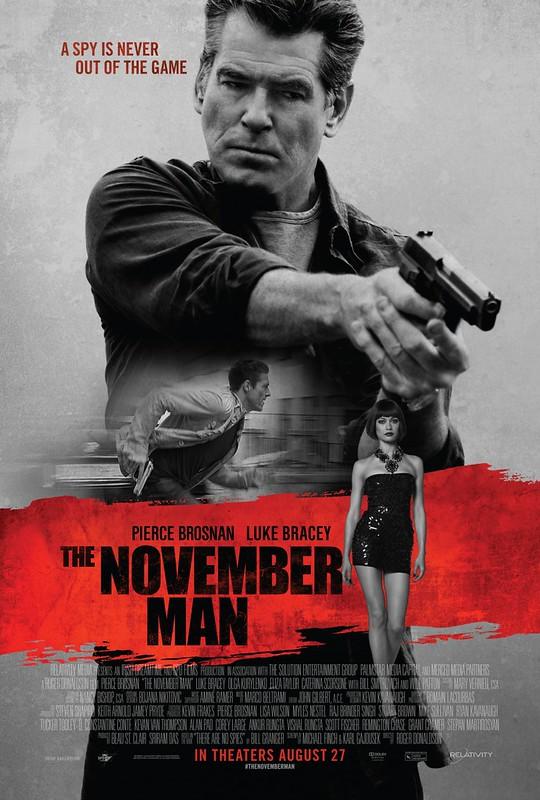 The November Man - Poster 1
