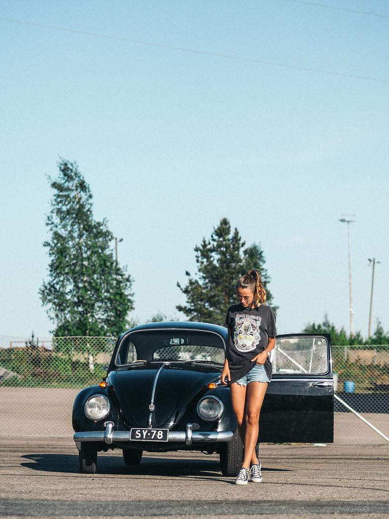 Iron Maiden t-shirt volkswagen summer ootd (1 of 1)-5