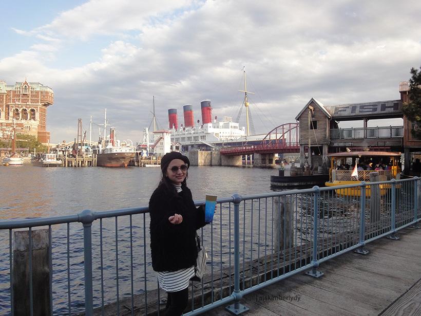 Tokyo Disneysea ship