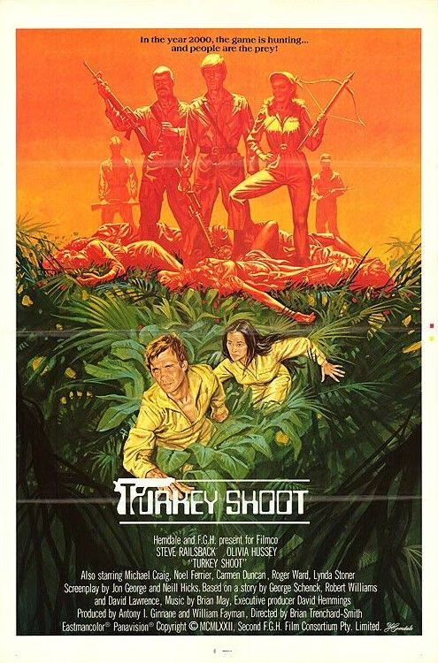 Turkey Shoot - 1982 - Poster 1
