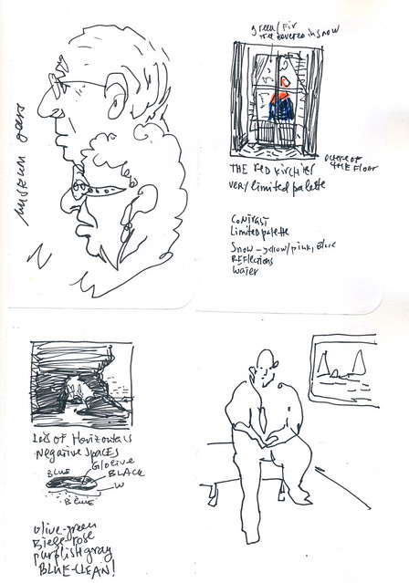 Sketchbook #104: Museumgoers