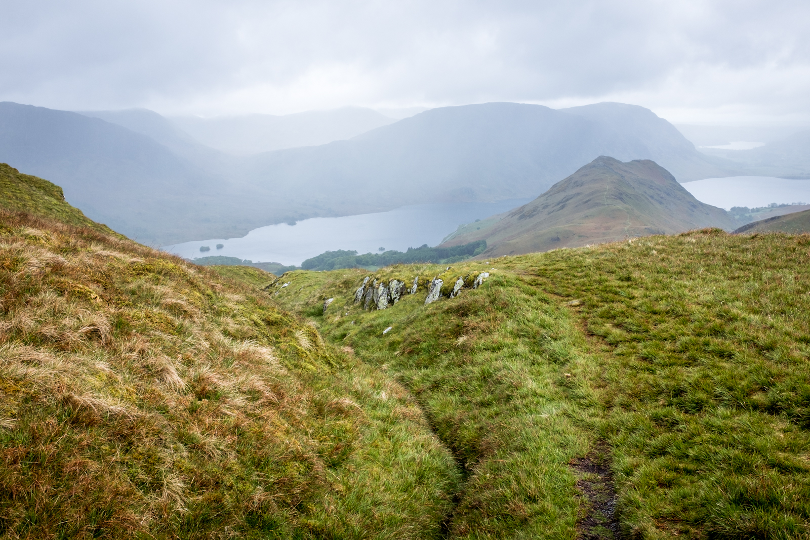 Descending to Buttermere
