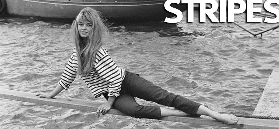 Brigitte Bardot maglia breton