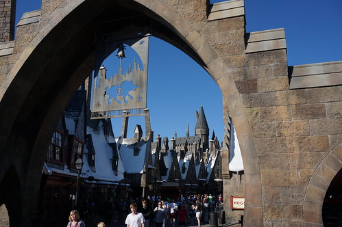 Universal Studios, Florida: Entrance to Hogsmeade | by Disney, Indiana