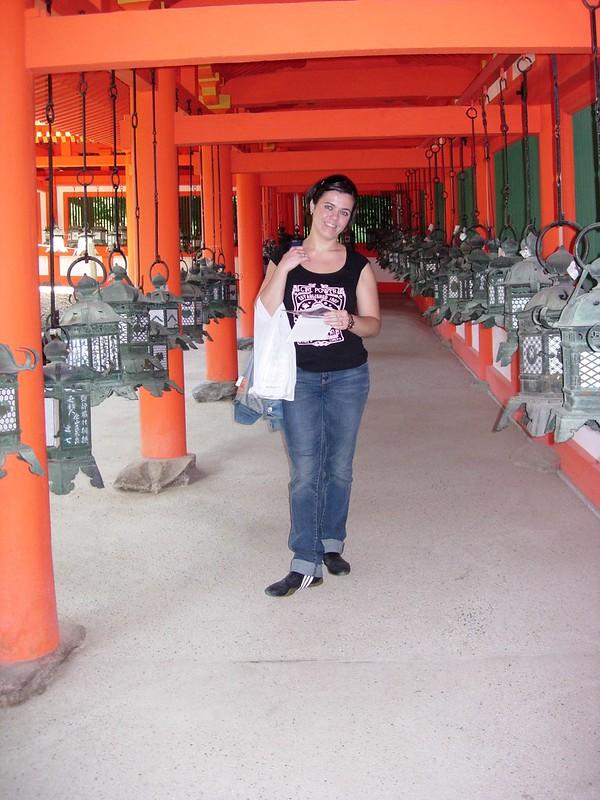 Templo de linternas en Kyoto
