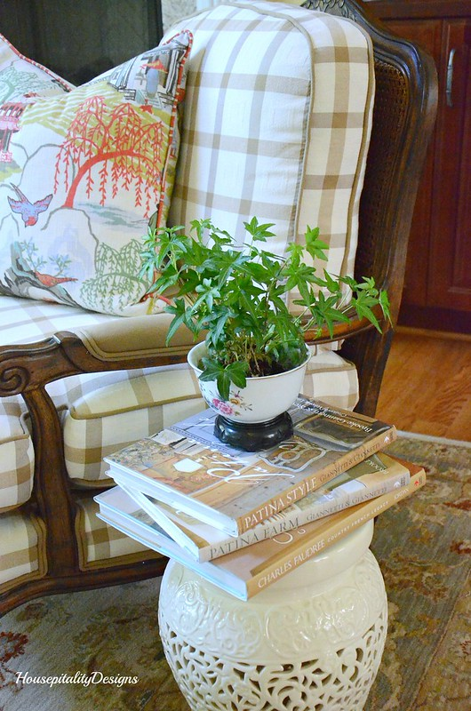 French Country Chair-Chinoiserie Pillow-Housepitality Designs