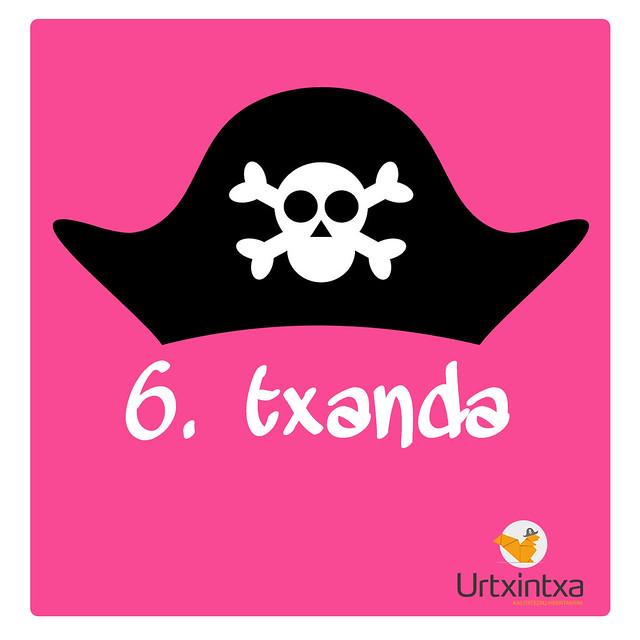 Pirata Udalekuak 2017- 6.txanda
