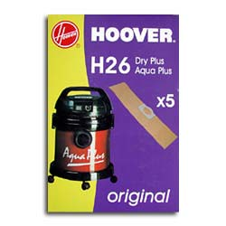 SACCHETTO BIDONE HOOVER H26 DRY PLUS