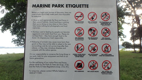 No fishing and other rules at the Sisters Islands Marine Park