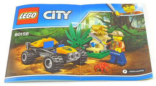 LEGO City 60156 Jungle Buggy box04