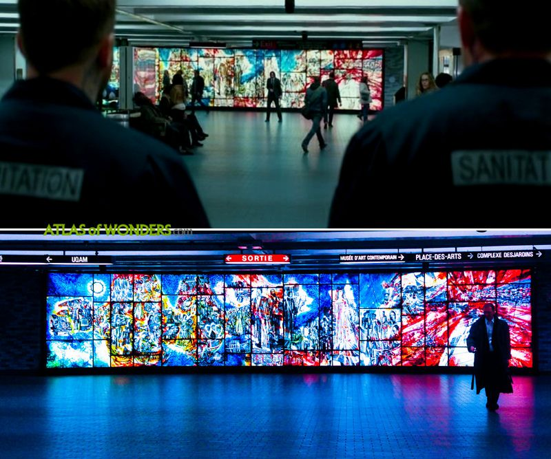John Wick 2 Subway Station