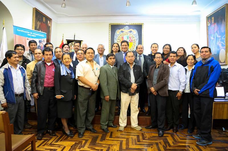 Con Ayacucho suman seis las regiones que impulsan la certificación de competencias