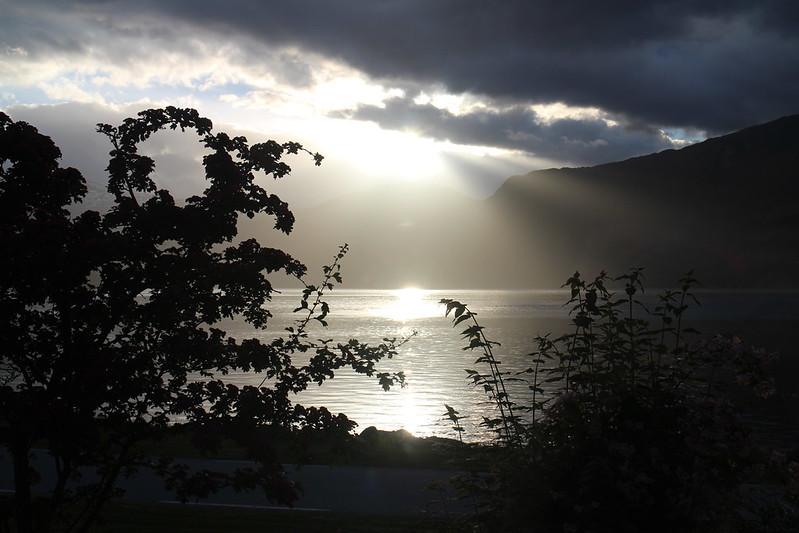 Eidfjord sunset
