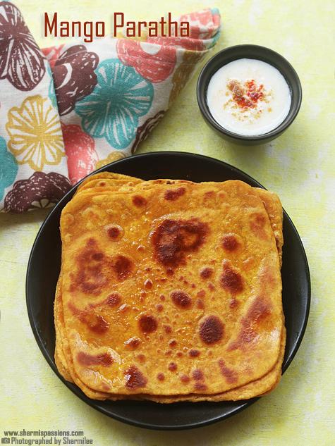 Mango paratha recipe